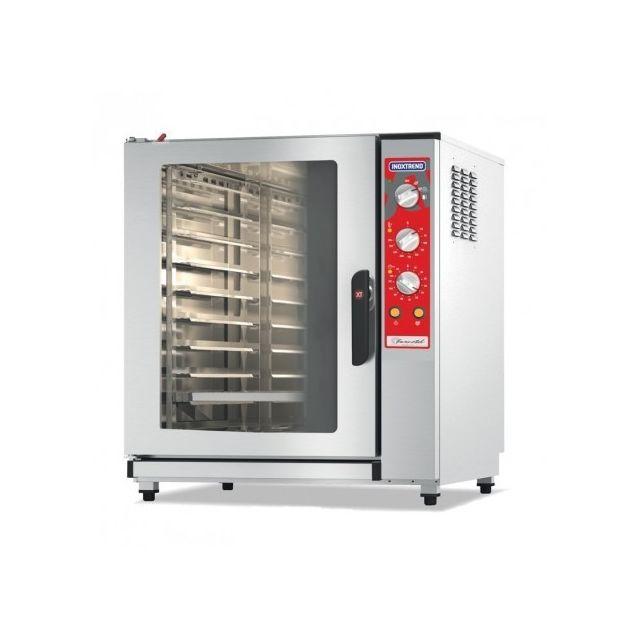 Materiel Chr Pro Four à air pulsé électrique xt simply - 12 kW - avec humidificateur - Inoxtrend
