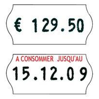 """Sato - Rouleau de 1200 étiquettes """"A consommer jusqu'au"""" Lot de 36"""