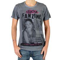 Eleven Paris - T-shirt Fanzine 4 Gris