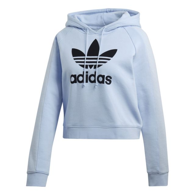 Hoodie femme Cropped trèfle