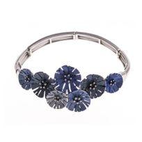 Fantzi - Bracelet fantaisie - époxy multicolore - élastique