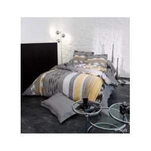 homemaison drap plat soft pas cher achat vente draps plats rueducommerce. Black Bedroom Furniture Sets. Home Design Ideas