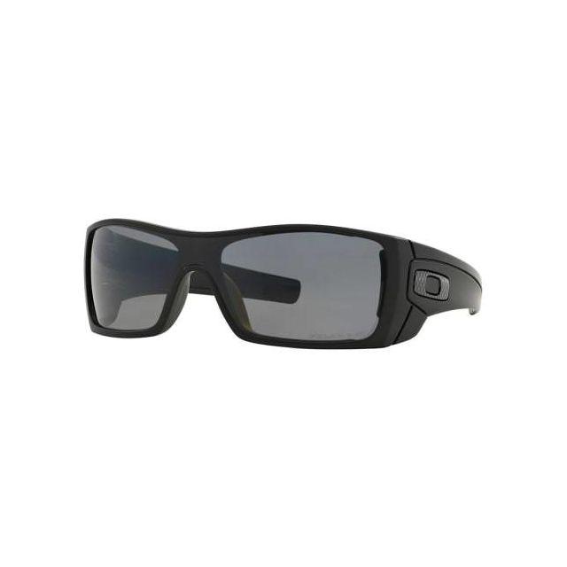7196495f74825 Oakley - Lunettes Batwolf Matte Black avec verres Grey Polarized - pas cher  Achat   Vente Lunettes - RueDuCommerce