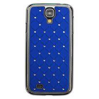 Marque Generique - Coque Samsung Galaxy S4 Luxe Strass Bleu