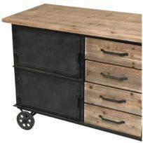 meuble roulette cuisine achat meuble roulette cuisine pas cher rue du commerce. Black Bedroom Furniture Sets. Home Design Ideas