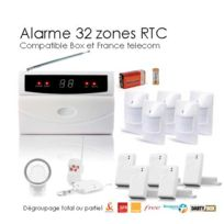 SecuriteGOODdeal - Alarme sans fil 32 Zones Xll Box