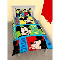 Mickey - Parure de lit Mouse Bright Disney