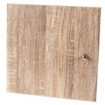 Casame - Porte pour meuble à cases bouton de porte inox intégré + systéme de fixation
