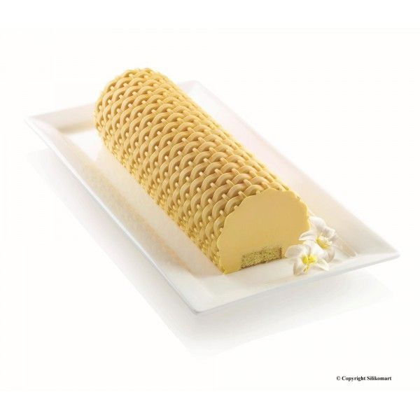 Silikomart - Kit moule magic bûche Blanc