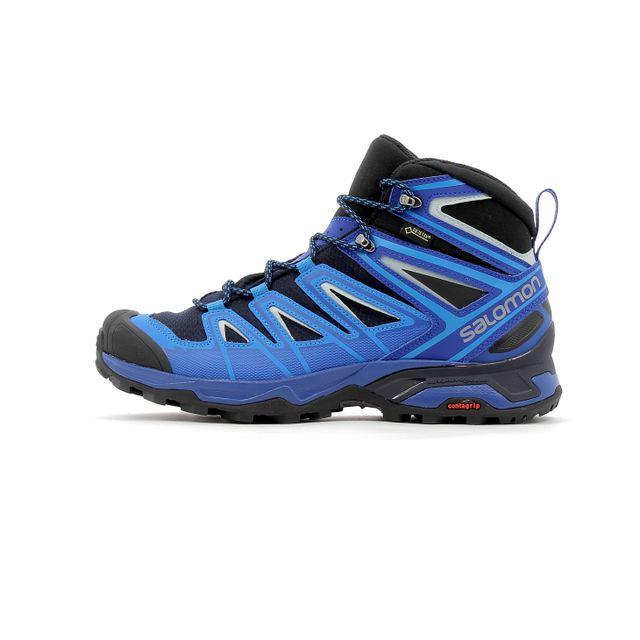 ddf616f03dd Salomon - Chaussures de randonnée X Ultra 3 Mid Gtx - pas cher Achat    Vente Chaussures grande rando - RueDuCommerce