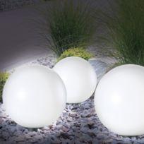 ProBache - Lampe boule 30 cm solaire design
