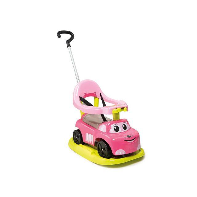 SMOBY - Porteur bébé Auto Bascule électronique