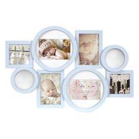 Innova - Collection Enfant Maggiore Cadre Multi Vues avec 8 Photos Résine Bleu