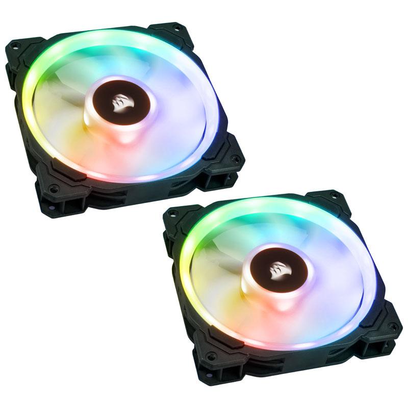 Pack de 2 ventilateurs Dual Light