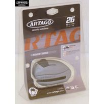 Artago - Antivol bloque disque moto scooter 26.7M