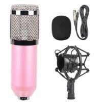 Support Bm D'enregistrement 3 Filaire Choc Avec Studio Condensateur De 800 5mm À Microphone lF1J3cTK