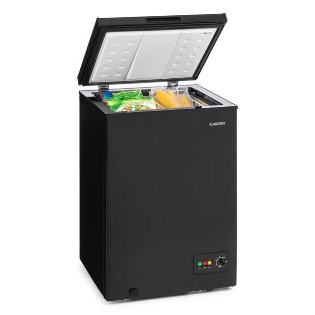 KLARSTEIN Iceblokk 100 Congélateur 100 litres 75W - Classe A+ - Noir