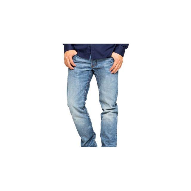 a2188aee24a0f G-star Raw - Jeans G Star 3301 Slim Hydrite Light Aged