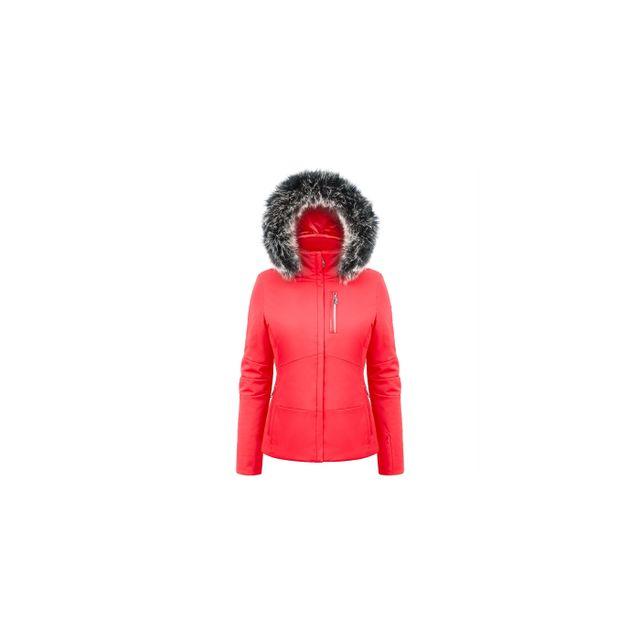 Poivre Blanc Veste Stretch Jacket Scarlet Red pas cher