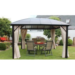 leco pergola en alu toit d me rigide dome pas cher achat vente pergola rueducommerce. Black Bedroom Furniture Sets. Home Design Ideas