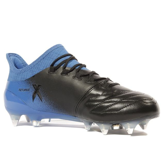 Adidas X 16.1 Leather SG Homme Chaussures Football Noir