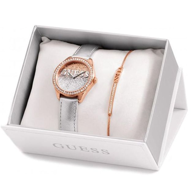 a287bb2f6f Guess - Montre femme Watches Ladies Glitter Ubs82108-S Achat / Vente ...