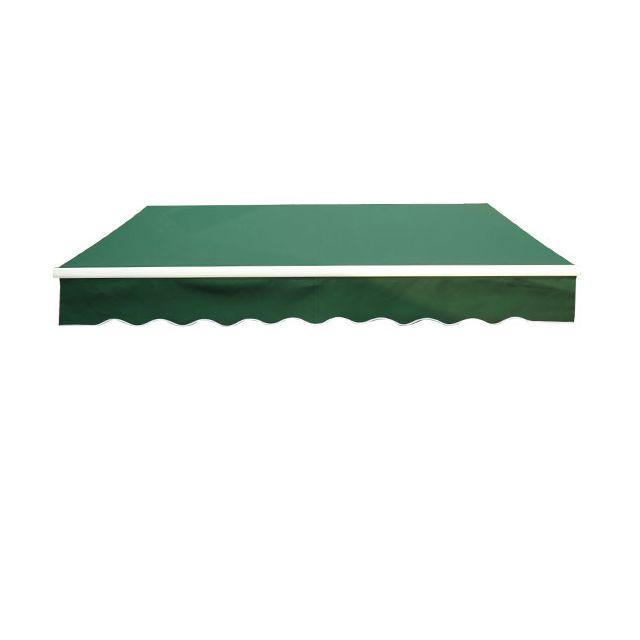 homcom store banne manuel de jardin terrasse auvent. Black Bedroom Furniture Sets. Home Design Ideas