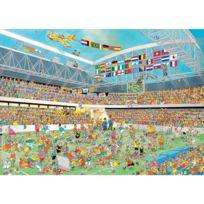 Jumbo - Puzzle 1000 pièces : Jan Van Haasteren : Fou de football