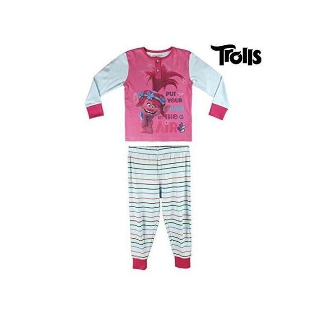 b3c81fe05fba4 Marque Generique - Pyjama Enfant Trolls 603 taille 6 ans Multicolore - N A  - pas cher Achat   Vente Pyjamas - RueDuCommerce