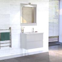 meuble salle de bain simple vasque rosaly 70 blanc brillant Résultat Supérieur 15 Unique Meuble Salle De Bain Simple Vasque Stock 2018 Hht5