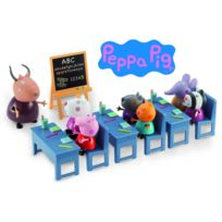 PEPPA PIG SERIE - Salle de Classe avec 7 personnages - 4962