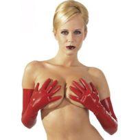 LateX - Gants rouge en - Taille M