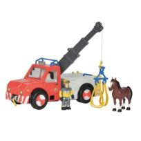 Smoby - Sam Le Pompier Camion Grue