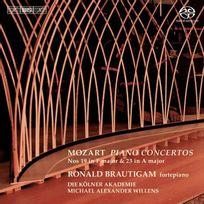 Bis - Wolfgang Amadeus Mozart - Concertos pour piano no. 19 et 23