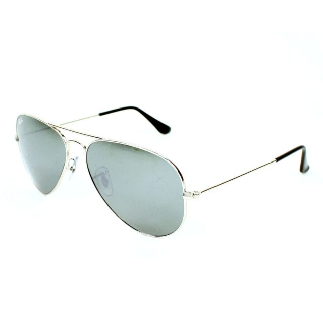 Ray-Ban - Ray Ban - Aviator metal Rb3025 W3277 Argent - Lunettes de soleil 330900c16e05