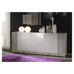envie de meubles buffet laqu duo pas cher achat. Black Bedroom Furniture Sets. Home Design Ideas