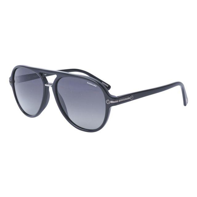 70030b339c822a Chopard - Sch-193 700Z Noir - Lunettes de soleil - pas cher Achat   Vente  Lunettes Tendance - RueDuCommerce