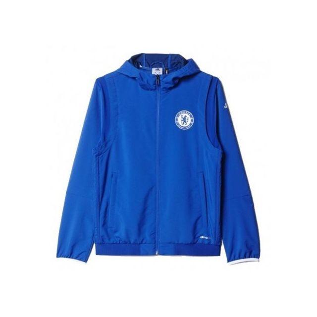Originals Veste Adidas Football Garçon Bleu Chelsea Multicolore E2WH9DI