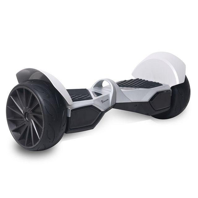 evercross monster hoverboard gyropode hummer tout terrain 8 5 pouces argent pas cher achat. Black Bedroom Furniture Sets. Home Design Ideas