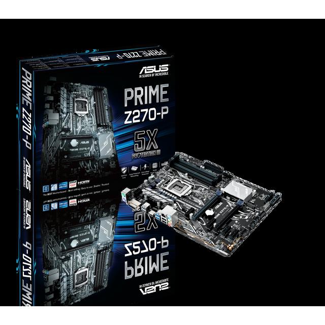 ASUS Carte mère PRIME Z270-P Socket 1151 - Chipset Z270 Kabylake