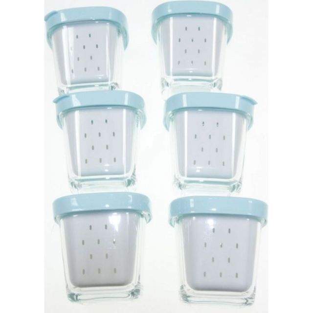 Seb - 6 pots yaourt avec egouttoir pour yaourtiere - pas ...