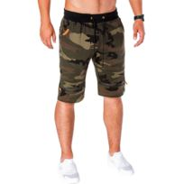 c542a2bf6f8e3 Bermuda camouflage homme - catalogue 2019 - [RueDuCommerce - Carrefour]