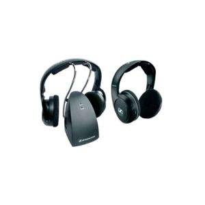 sennheiser casques sans fil rs 119 duo 2 pcs noir pas. Black Bedroom Furniture Sets. Home Design Ideas