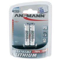Ansmann - 2 Piles Lithium Lr03