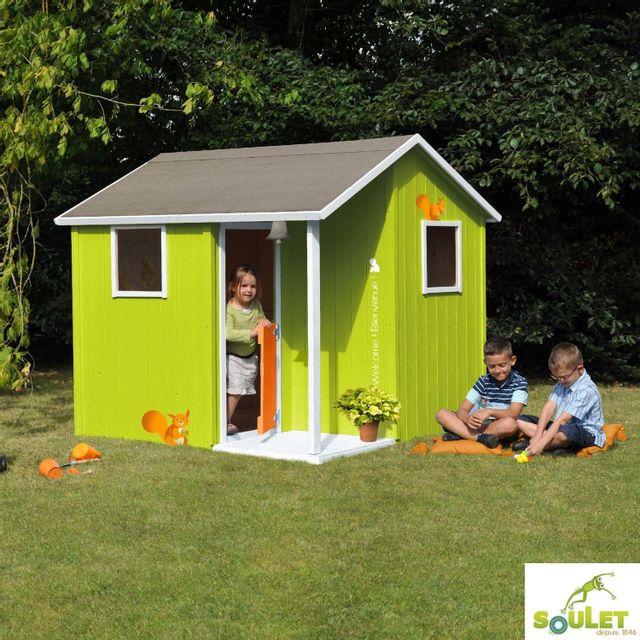 Maisonnette bois jardin maisonnette bois enfant alice amazing cabane de jardin pour enfant 6 - Cabane de jardin en kit besancon ...