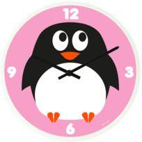 JIP - Horloge rigolote pingouin 30cm