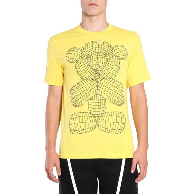 Barrett Blackbarrett By Neil Homme Pxjt2091AU96 Jaune Coton T-shirt