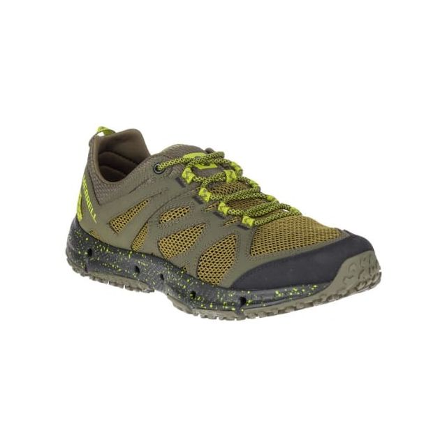 Merrell Chaussures Hydrotrekker vert lime pas cher Achat