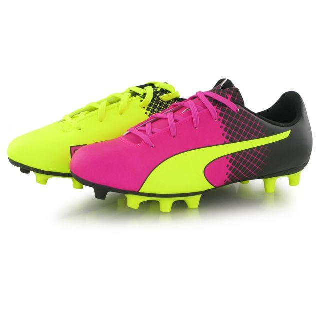 Football 5 Rose De Mixte Pas Fg 5 Cher Chaussures Evospeed Puma BxnUWSW