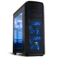 SPIRIT OF GAMER - Boitier PC ATX Révolution Two Blue